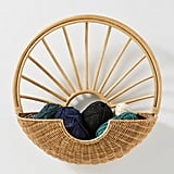 Rattan Sun Wall Basket
