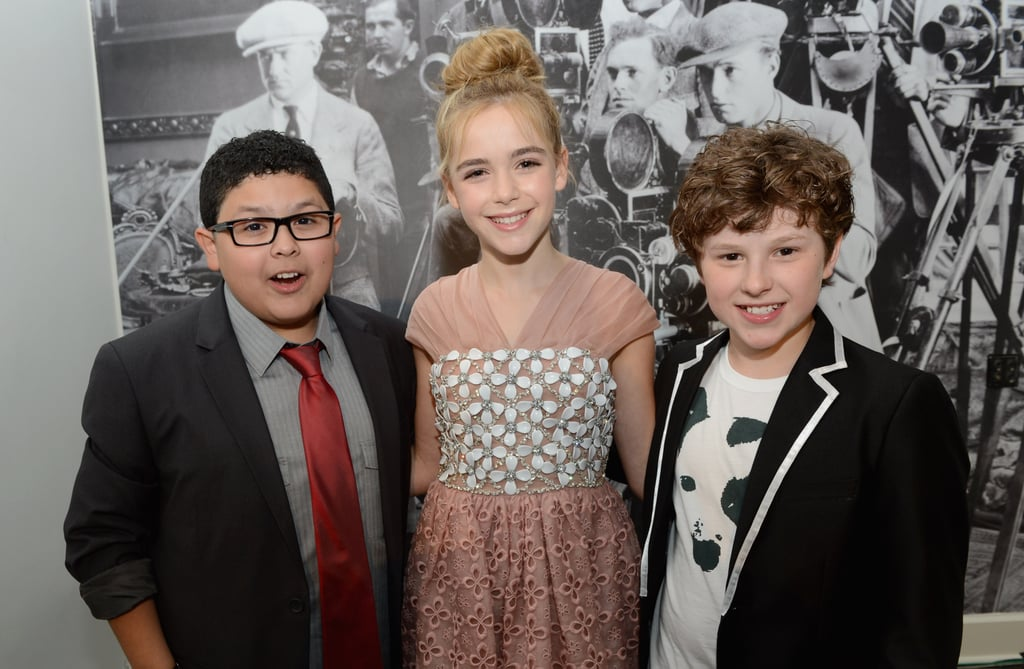 Kiernan Shipka, Rico Rodriguez and Nolan Gould all celebrated their Scene Stealer awards backstage.