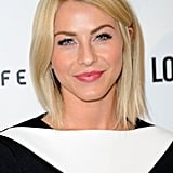 Julianne Hough was out earlier this week supporting British fashion. We were captivated by her effortless style: a sleek lob, lush lashes, pink lips, and gorgeous skin.