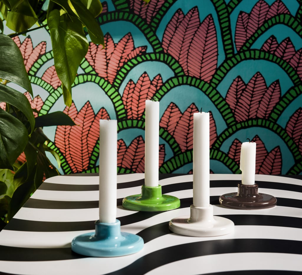 But these candlestick holders exude Spring ($3 each).