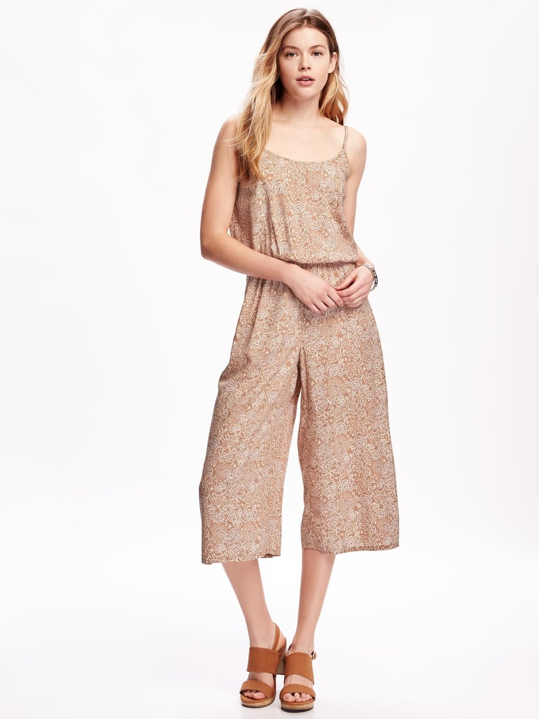 An Easy Jumpsuit to Layer Over a Button-Down or Tee