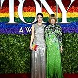 Bee Shaffer Carrozzini & Anna Wintour at the 2019 Tony Awards