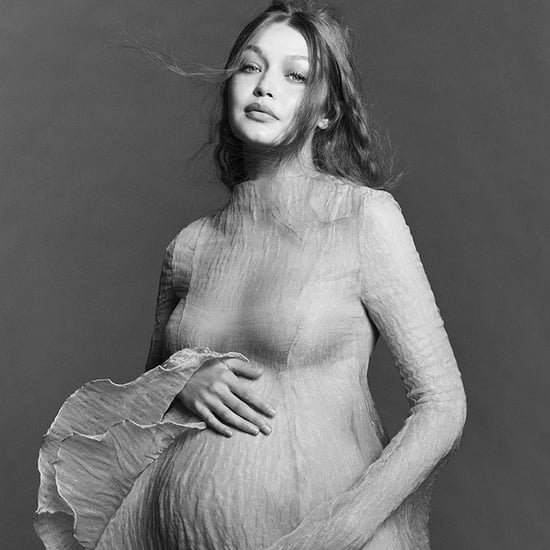 Gigi Hadid Wears Sheer Dresses For Her Pregnancy Photo Shoot