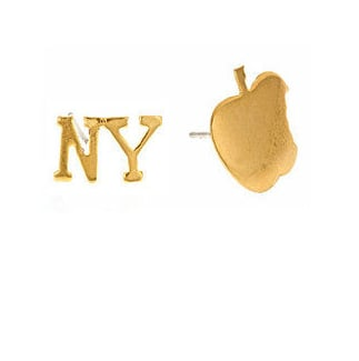 Show your love for New York with these adorable Emily Elizabeth I Love NY studs ($50).