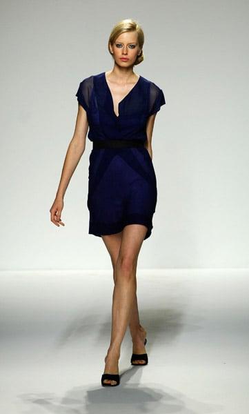 New York Fashion Week Key Color: Navy