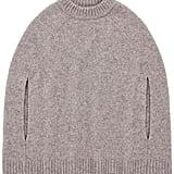 Merino Wool Sweater Cape ($425)