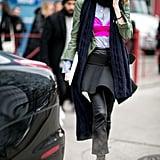 Taylor Tomasi Hill at Fashion Week Fall 2016