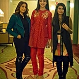 Karuna Chani, Mawra Hocane, and Ania Fawad