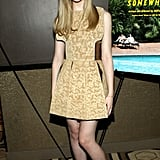 Elle Fanning stepped out for the premiere of Somewhere and proved she's one to watch.