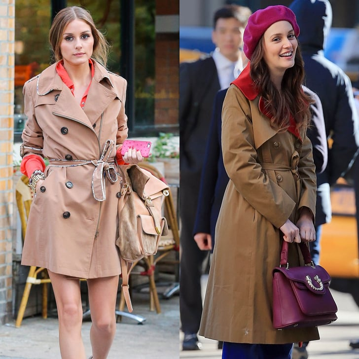 Make a Classic Trench Feel Modern by Pairing It With Jewel Tones