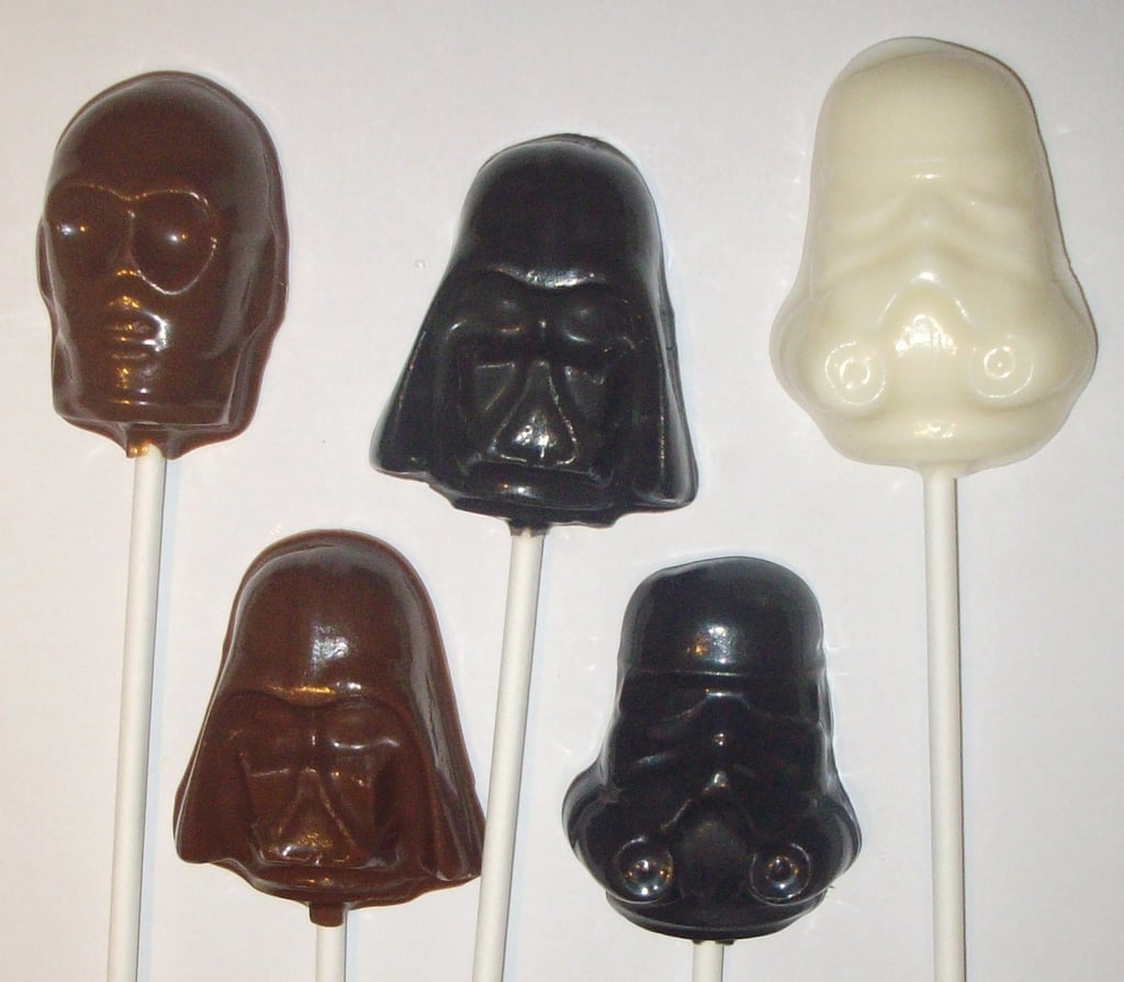 Star Wars Lollipops ($15 for 12)