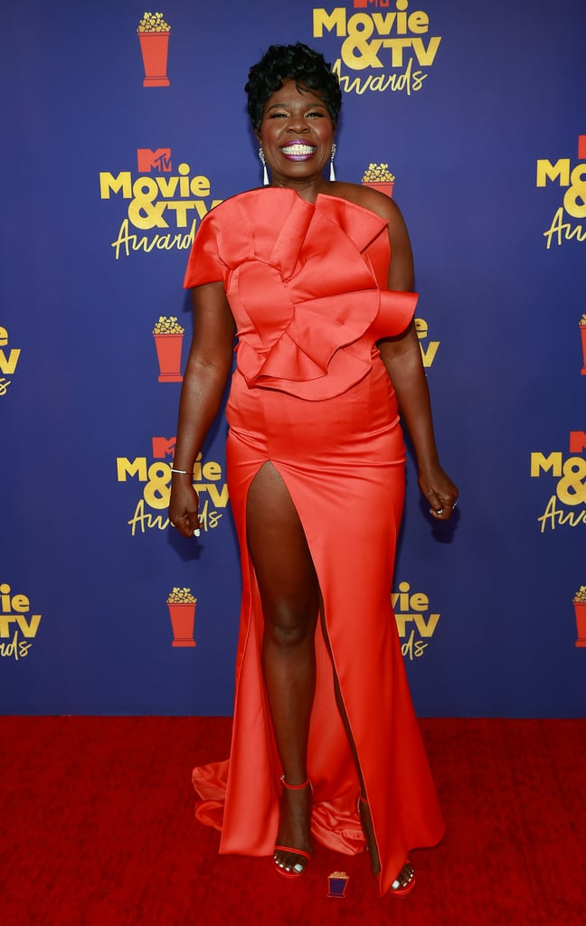 Leslie Jones at the 2021 MTV Movie and TV Awards