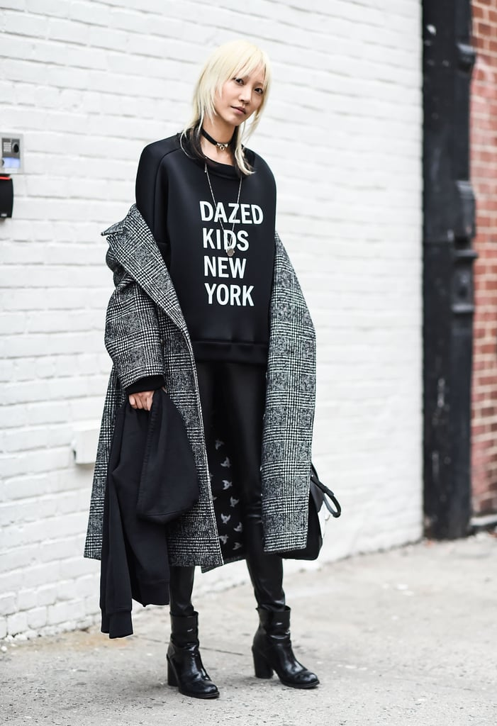 New York Fashion Week Model Street Style At Fashion Week Fall 2016 Popsugar Fashion Photo 159