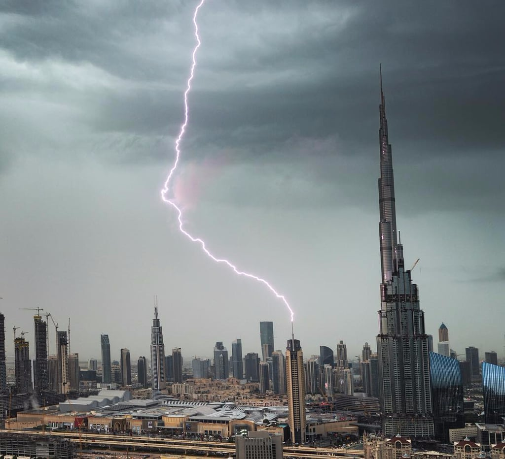Pictures of the Storm in the UAE