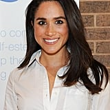 Meghan Markle's Smooth Blowout, 2015