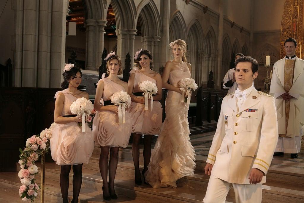 Louis and Blair\'s Wedding | Gossip Girl Wedding Pictures | POPSUGAR ...