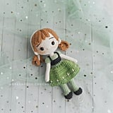 Disney Princess Doll Crochet Pattern — Anna