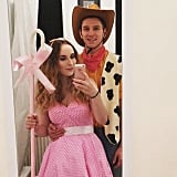Woody and Bo Peep From Toy Story