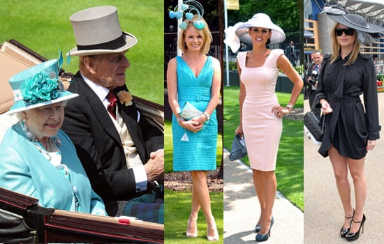 Pictures of Amanda Holden, Danielle Lineker, Holly Valance, the Queen at Royal Ascot 2010 Opening Day