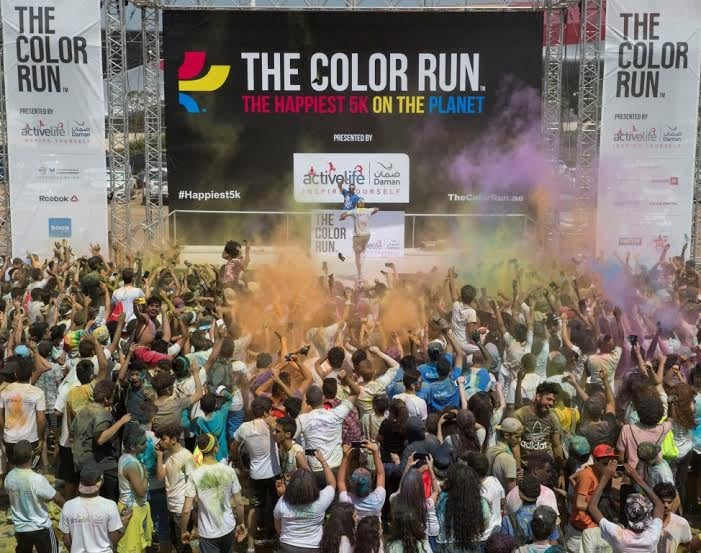 2016 Color Run Abu Dhabi Pictures