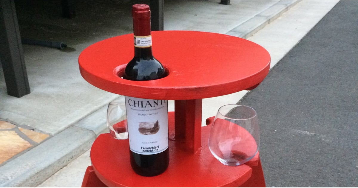This Is the Ikea Wine Table Hack Everyone Is Freaking Out About on Imgur