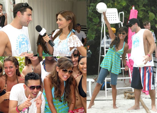 Vanessa Minnillo and Brody Jenner in Miami