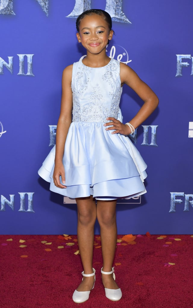 Faithe Herman at the Frozen 2 Premiere in Los Angeles