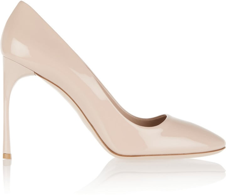 Miu Miu Patent-Leather Pumps ($730)