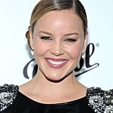 Abbie Cornish gave a big smile at the Persol Magnificent Obsessions event in NYC.