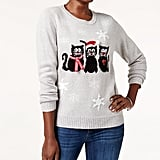 Karen Scott Cats Holiday Sweater