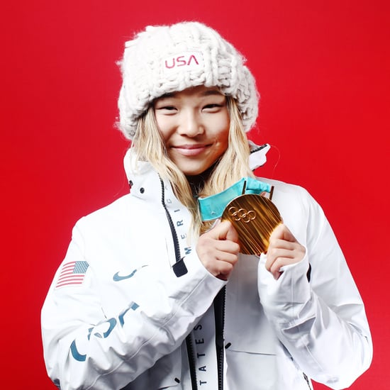 Chloe Kim's Mom Wears Olympics Manicure