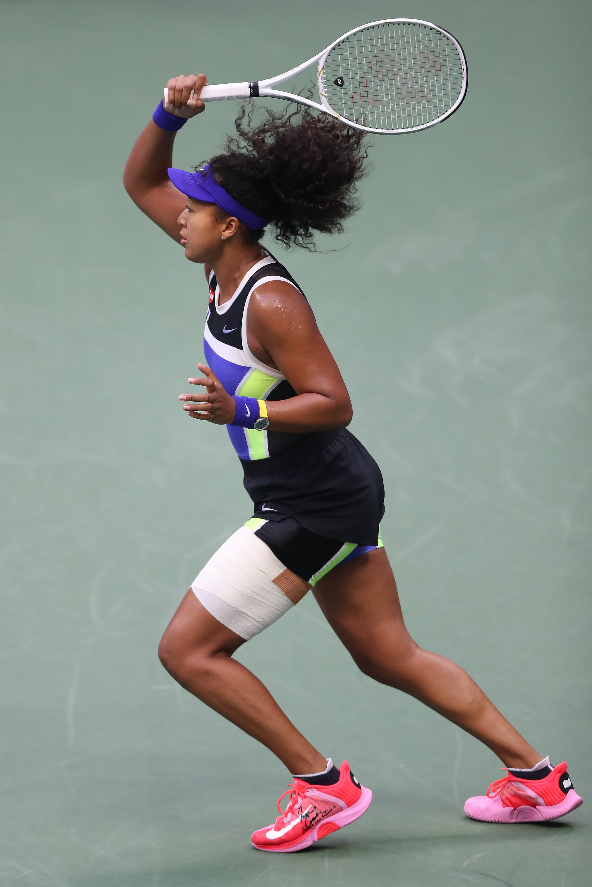 Fitness Health Well Being Naomi Osaka Sent A Moving Message With Her Us Open Sneakers Home Is Where The Heart Is Popsugar Fitness Photo 3