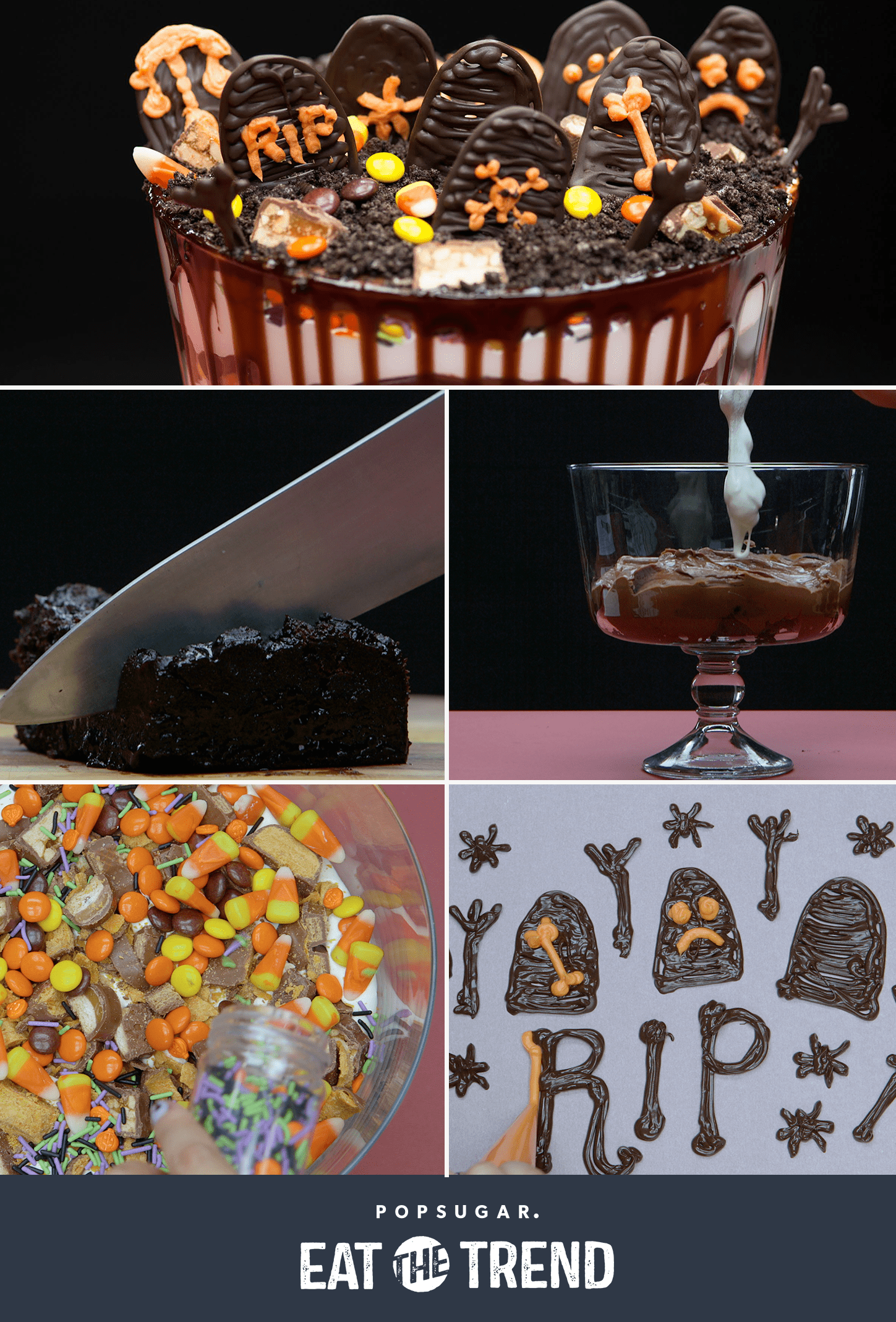 This Halloween Candy Graveyard Is Worth Saving Your Leftover Sweets For