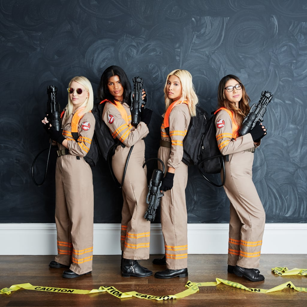 DIY Ghostbusters Halloween Costume