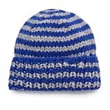 Lola Hats Striped Blue Wool-Blend Beanie