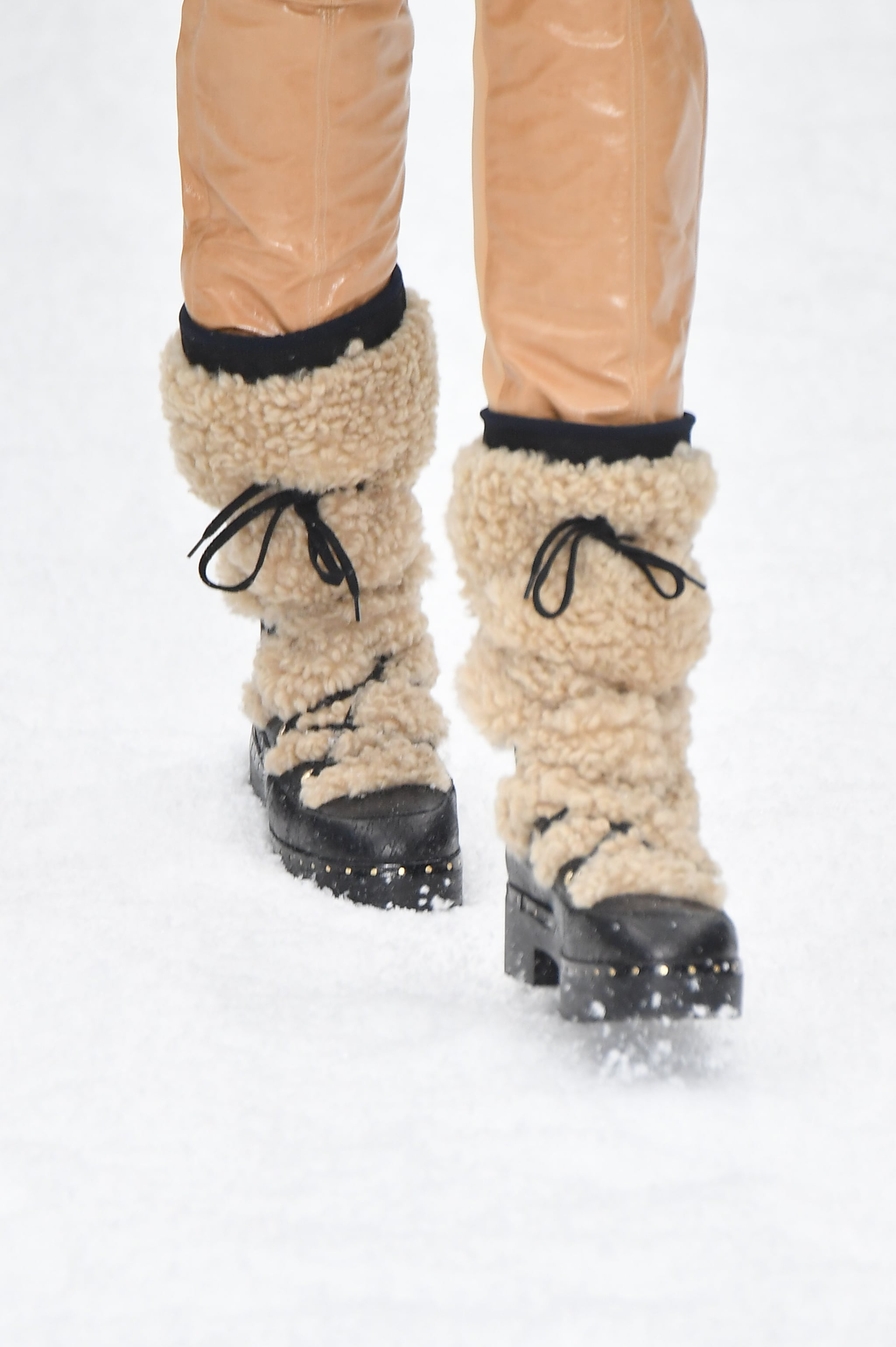 Chanel Snow Boots Fall 2019   Chanel's