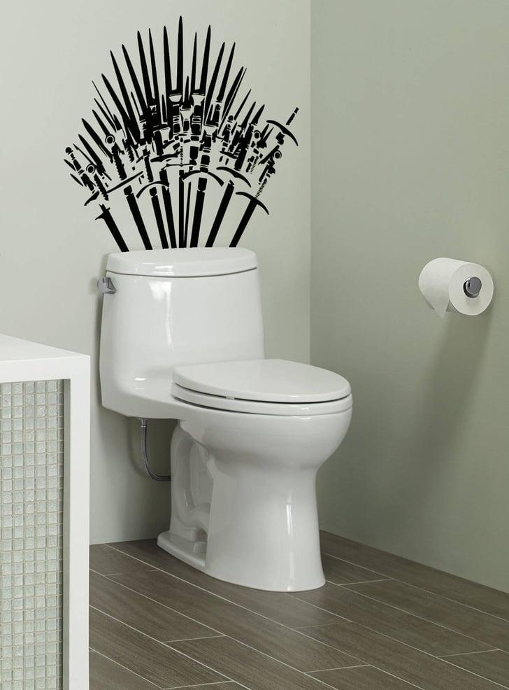Game Of Thrones Toilet Sticker Popsugar Home