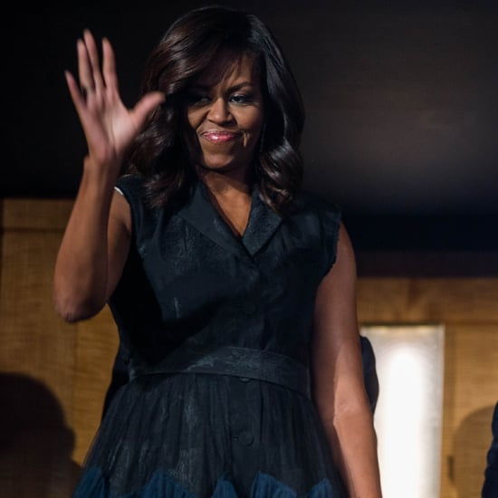Michelle Obama Tuxedo Dress at the Kennedy Center Sept. 2016