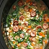 Sausage, Spinach, and White Bean Soup