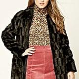 Forever 21 Faux Fur Zip Up Jacket ($60)