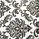 There's also a black-and-white damask print.