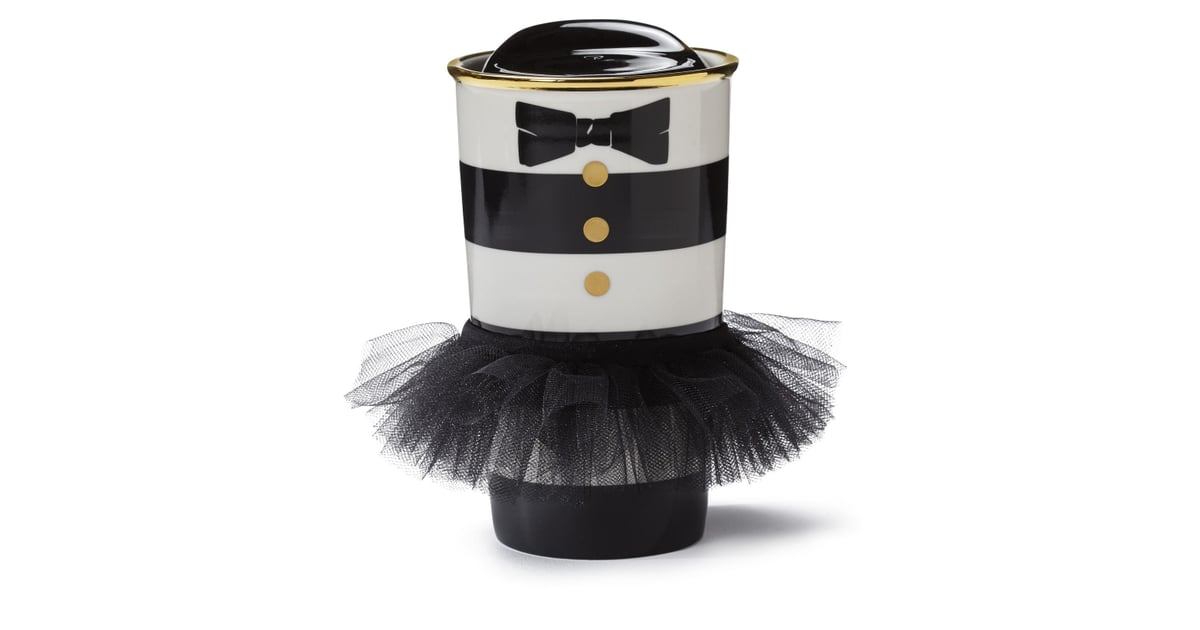 Alice + Olivia Starbucks Collaboration Striped Cup With Tutu | POPSUGAR  Fashion