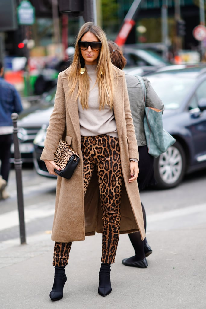 Think of Leopard as a Neutral and Replace Your Basic Trousers