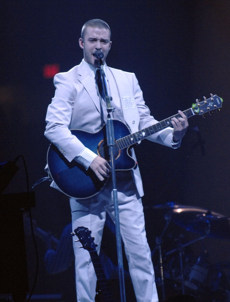 When he made the rounds for his FutureSex/LoveShow tour.