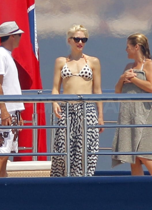 Gwen Picks a Polka-Dot Bikini For Her Latest Day on the French Riviera