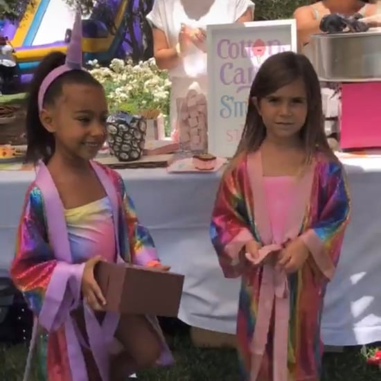 North West and Penelope Disick's Birthday Party Photos