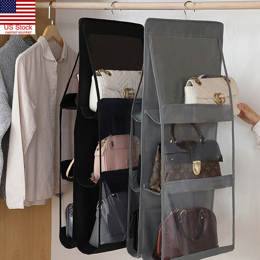 6 Pocket Foldable Hanging Bag