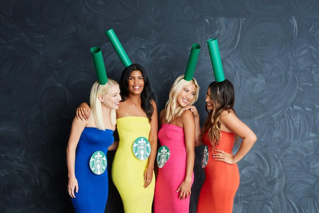 Starbucks Rainbow Drinks Creative Last Minute Halloween