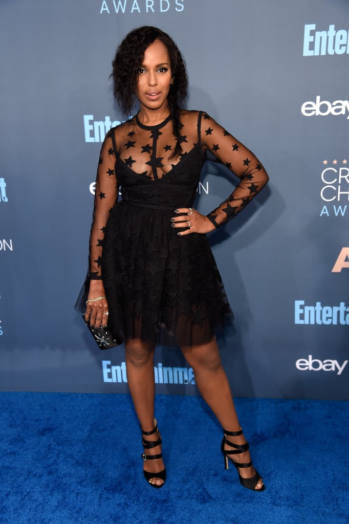 Kerry Washington's Dress at the 2017 Critics' Choice Awards