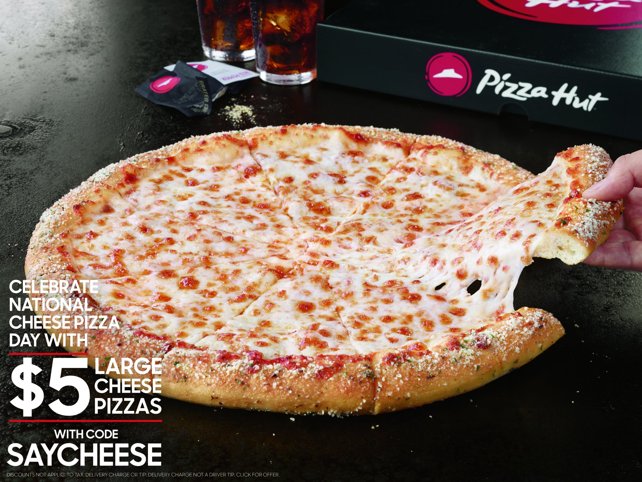 Pizza Hut National Cheese Pizza Day Deal 2017 Popsugar Food
